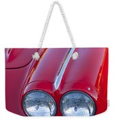 1962 Chevrolet Corvette Headlight Weekender Tote Bag