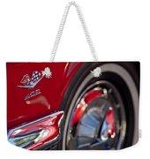 1962 Chevrolet Impala 409 Emblem Weekender Tote Bag