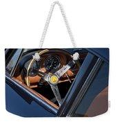 1963 Apollo Steering Wheel     Weekender Tote Bag