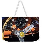 1963 Apollo Steering Wheel 2 Weekender Tote Bag by Jill Reger