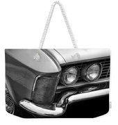 1963 Buick Riviera B/w Weekender Tote Bag