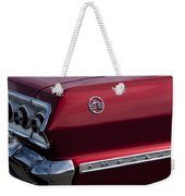 1963 Chevrolet Impala Ss Taillight Weekender Tote Bag