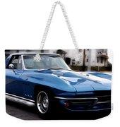 1963 Corvette Weekender Tote Bag