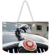 1963 Jaguar Emblem Weekender Tote Bag