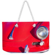 1963 Red Porsche Weekender Tote Bag