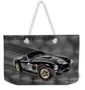 1963 Shelby Cobra 289 Weekender Tote Bag