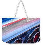 1964 Chevrolet Impala Ss Taillight Weekender Tote Bag