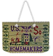 1964 Homemakers Five Cent Stamp Weekender Tote Bag