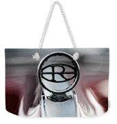 1965 Buick Riveria Hood Emblem Weekender Tote Bag