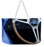 1965 Cobra Sc Steering Wheel 2 Weekender Tote Bag