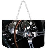 1965 Corvette Roadster Dash Weekender Tote Bag