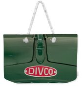 1965 Divco Milk Truck Hood Ornament 4 Weekender Tote Bag