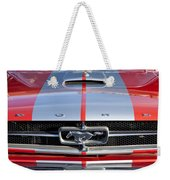 1965 Ford Mustang Front End Weekender Tote Bag