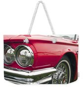 1965 Ford Thunderbird Front End Weekender Tote Bag