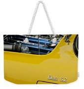 1965 Lotus Elan S2 Engine Weekender Tote Bag