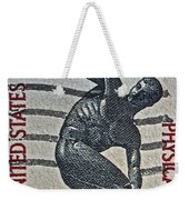 1965 Physical Fitness Stamp Weekender Tote Bag