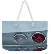 1966 Chevrolet Corvette Tail Light 2 Weekender Tote Bag