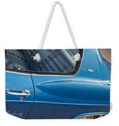1966 Chevy Caprice Chevrolet Back Clip Weekender Tote Bag