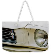 1966 Ford Shelby Gt 350 Grille Emblem Weekender Tote Bag