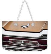 1966 Ford Thunderbird Weekender Tote Bag by Gordon Dean II
