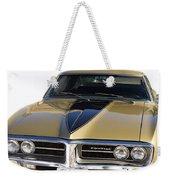 1967 Bronze Pontiac Firebird  Weekender Tote Bag