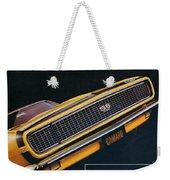 1967 Camaro Ss Weekender Tote Bag