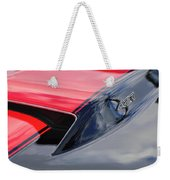 1967 Chevrolet Corvette 427 Hood Emblem 5 Weekender Tote Bag