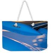 1967 Chevrolet Corvette 427 Hood Emblem Weekender Tote Bag