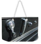 1967 Chevrolet Corvette Door Controls Weekender Tote Bag