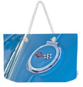 1967 Chevrolet Corvette Rear Emblem Weekender Tote Bag