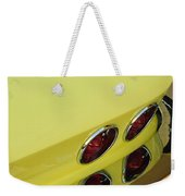 1967 Chevrolet Corvette Taillight Weekender Tote Bag
