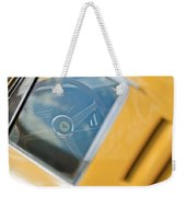 1967 Ferrari 275 Gtb4 Steering Wheel Weekender Tote Bag