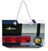1967 Shelby Gt500 Fastback Taillight Emblem Weekender Tote Bag