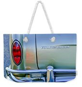 1967 Volkswagen Vw Karmann Ghia Taillight Emblem Weekender Tote Bag