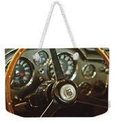 1968 Aston Martin Db6 Steering Wheel Emblem Weekender Tote Bag