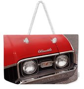 1968 Oldsmobile Cutlass Supreme Weekender Tote Bag