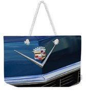 1969 Cadillac Hood Emblem Weekender Tote Bag