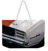1969 Chevrolet Camaro Indianapolis 500 Pace Car Weekender Tote Bag by Gordon Dean II