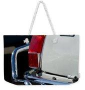 1969 Fiat 500 Taillight Emblem Weekender Tote Bag