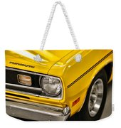 1970 Plymouth Duster 340 Weekender Tote Bag