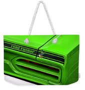 1970 Plymouth Road Runner - Sublime Green Weekender Tote Bag