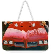 1970 Pontiac Gto - The Quick Way Out Of The Little Leagues. Weekender Tote Bag