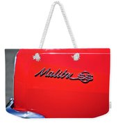 1971 Chevrolet Chevelle Malibu Convertible Weekender Tote Bag