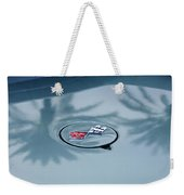 1971 Chevrolet Corvette Gas Cap Emblem Weekender Tote Bag