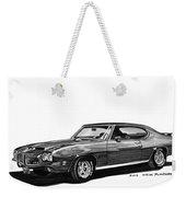 1971 Pontiac G T O Weekender Tote Bag