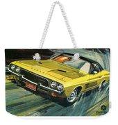 1973 Dodge Challenger Rallye Weekender Tote Bag