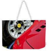1973 Ferrari 246 Gts Dino Emblem 5 Weekender Tote Bag