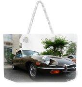 1973 Jaguar Type E Weekender Tote Bag