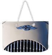 1977 Morgan Plus 4 Hood Emblem Weekender Tote Bag