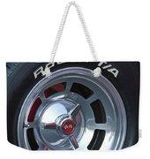 1980 Chevrolet Corvette Wheel Weekender Tote Bag
